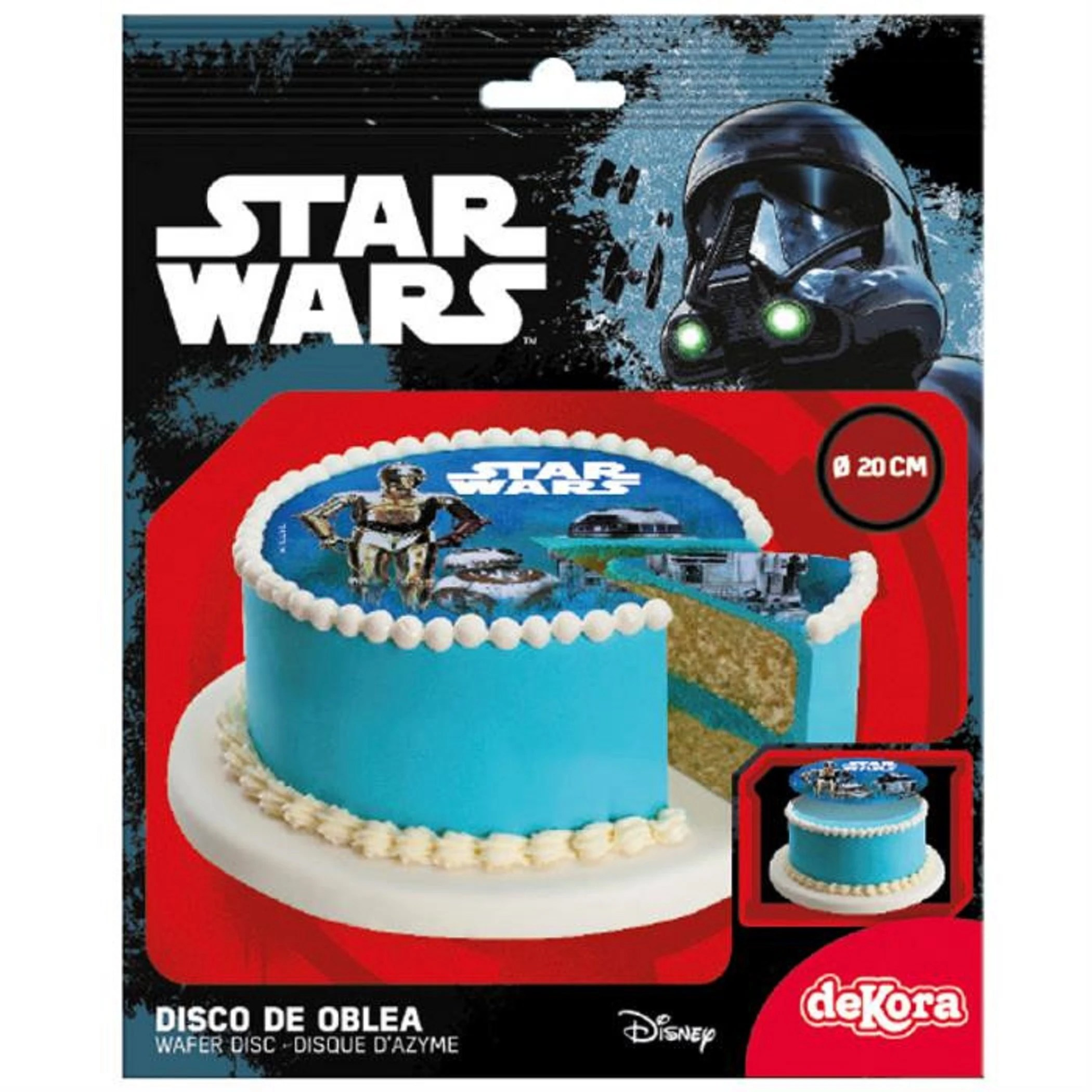 disque azyme star wars 20 cm 12g