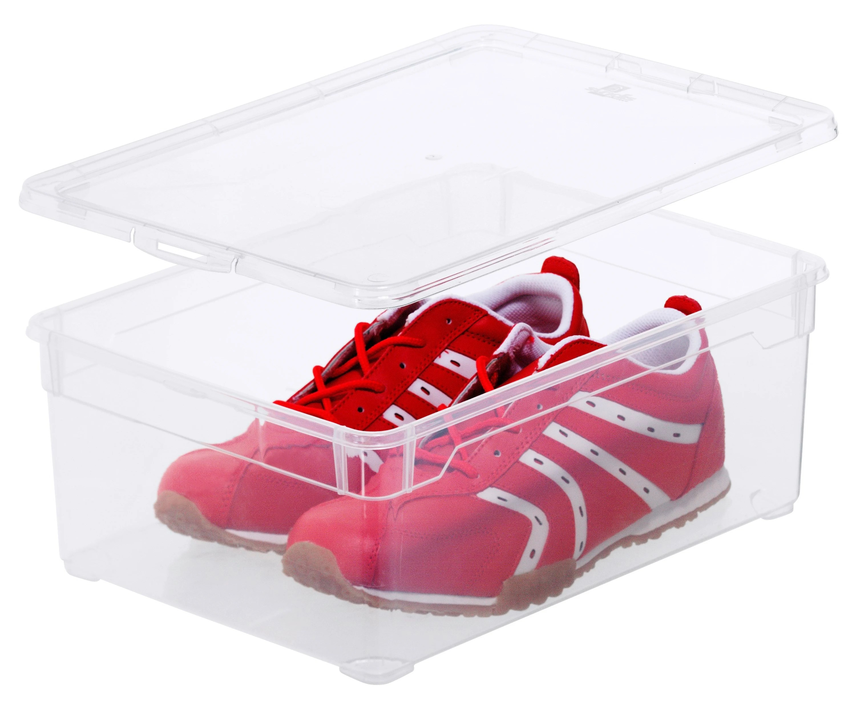 boite a chaussures transparente pour homme 33x19x11