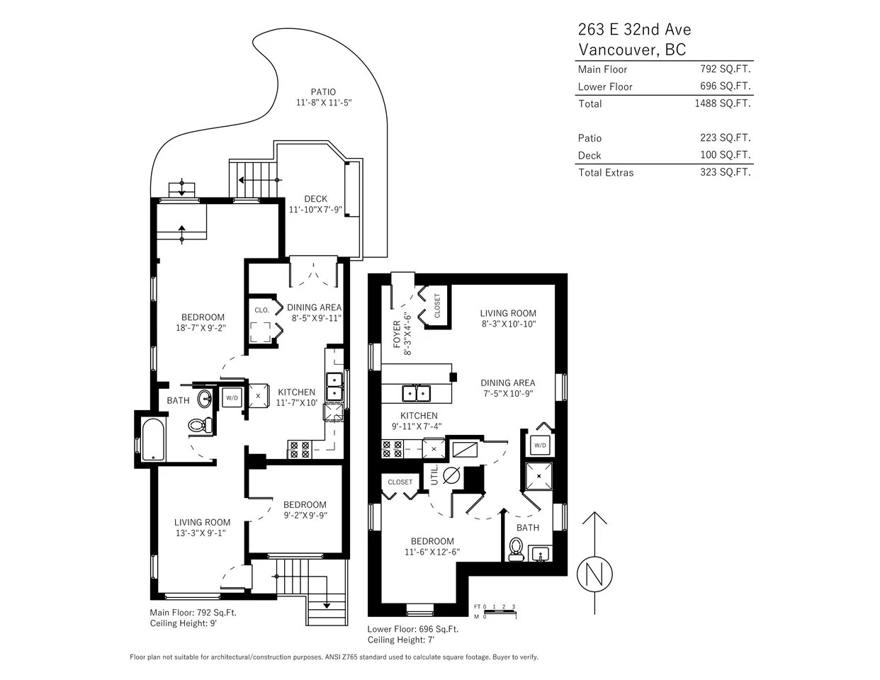 2 for sale 263 east 32nd avenue vancouver bc 3 bed 2 [ 1242 x 960 Pixel ]