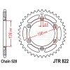 Zębatka tylna stalowa JT 822-43, 43Z, rozmiar 520 2300411