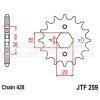 Zębatka przednia JT F259-16, 16Z, rozmiar 428 2200891