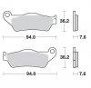 KLOCKI HAMULCOWE KH181 NITRO RACING METALICZNE: 22 KTM