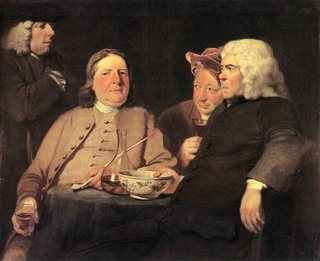 Joseph Highmore, Mr. Oldham and his Friends, 1750, Tate Gallery, London