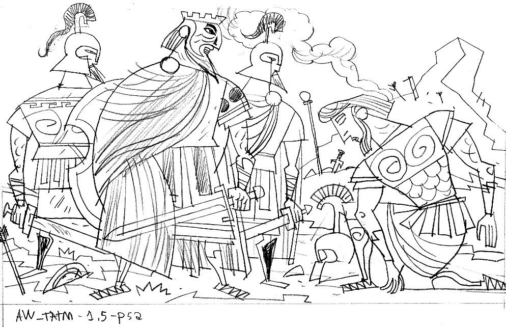 Free coloring pages of peter and cornelius