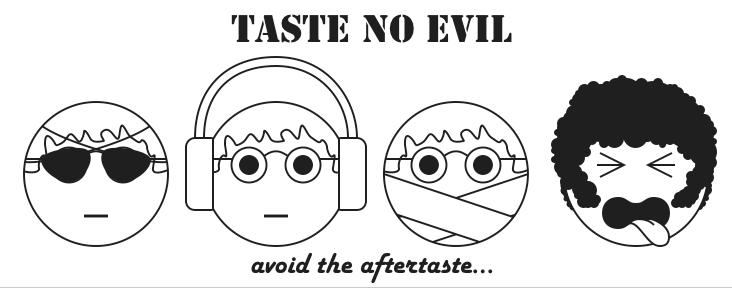 TASTE NO EVIL: New picture