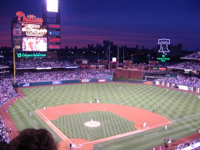 Citizens Bank Park, just before game time on May 7, 2006.