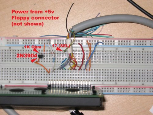 small resolution of i wired up the display to the parallel port as described here i didn t use the port cups but the schematic was great