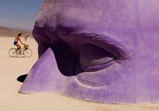 purple head