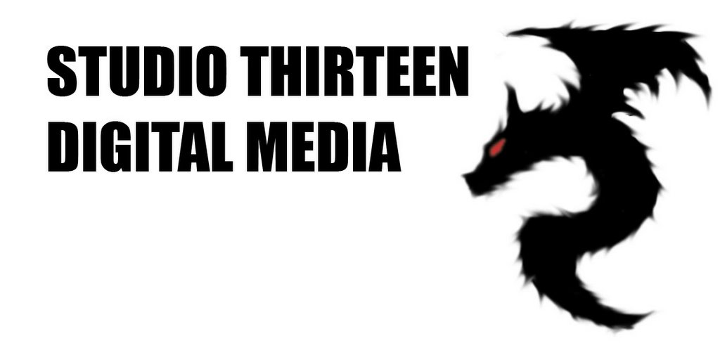 Ayukat Studio: Studio Thirteen Logo for Digital media