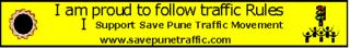 Pune road, traffic in pune, online petition