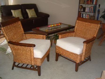 pier one rattan chair recliner covers green furniture sale contemporary leather loveseat two chairs