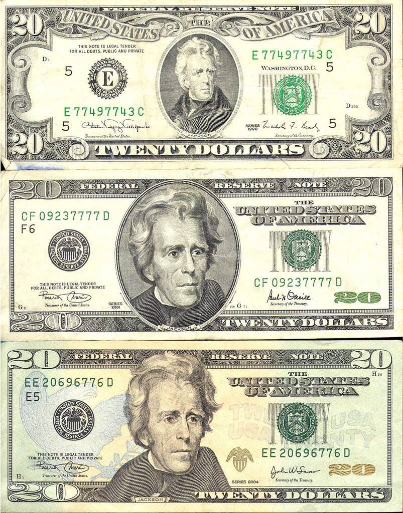 Evolution Of The 20 Bill Coin Collectors Blog