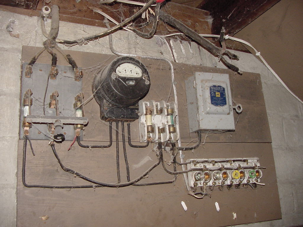hight resolution of antiquated wiring