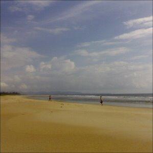 Dream weather on Goa beach