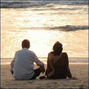 29/10/06 - Rakkautta Goan rannalla - Love on Goa beach