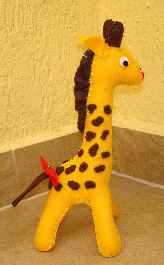 Bonecas de Pano Girafa Wal