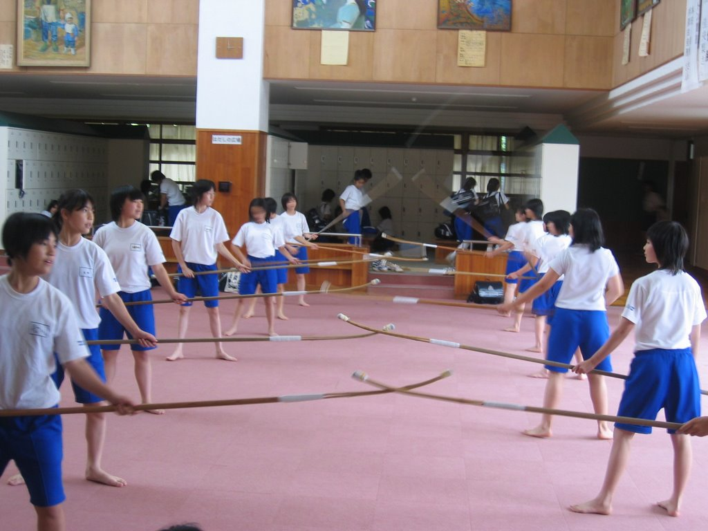 A French Teacher In Japan Junior High Club Activities