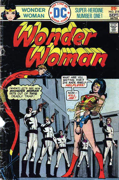 Wonder Woman 219 September-October