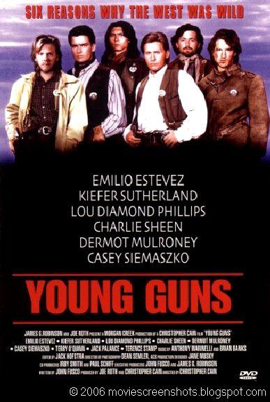 Vagebond39s Movie ScreenShots Young Guns 1988