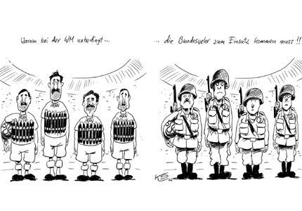 USS Neverdock: Germany: Iran's Anti Soccer Cartoon Jihad