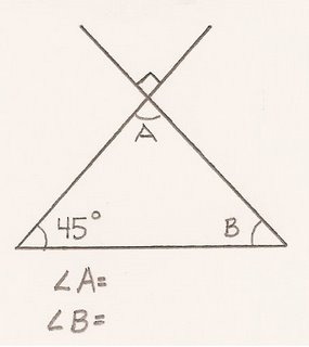 Grade 7 Math Blogorama at Sargent Park: Sample Angle questions