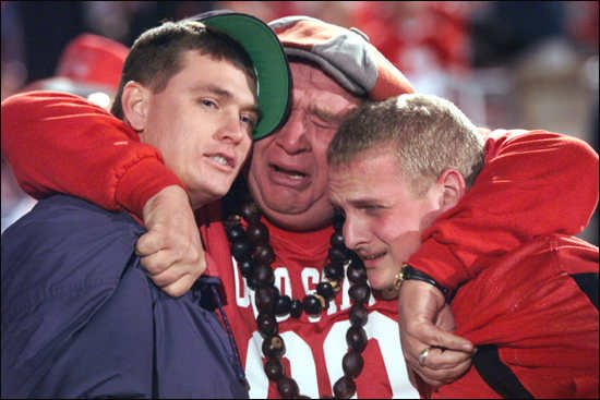 College Football Blog: POLL: Why is this Buckeye Crying?