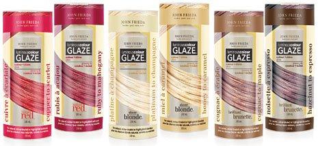 brain spam random product review john frieda luminous color glaze