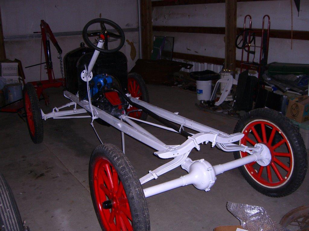 Model T Speedster Build 1920 Engine and Frame