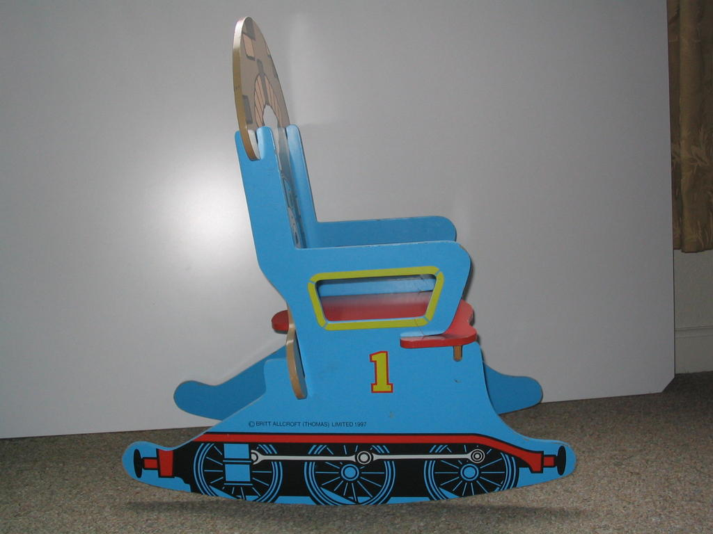 Rockin Chair The Thomas Train Depot Thomas The Tank Rocking Chair