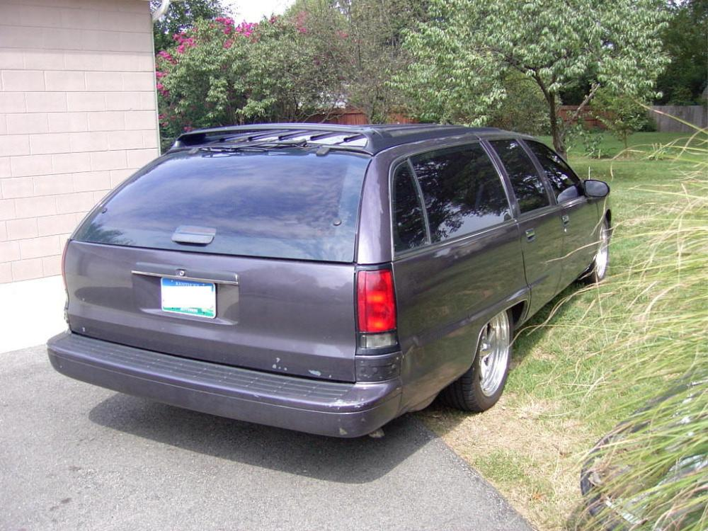 medium resolution of for sale 1995 chevrolet caprice classic station wagon lt1 v8 engine 4l6oe automatic overdrive transmission purple pearl metallic with grey interior