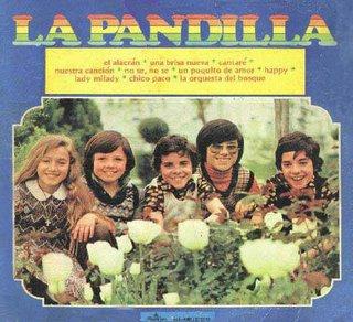 La Pandilla, LP El Alacrán, que yo tenía