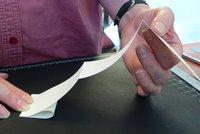Fold 4 - Bring mountain fold to paper edge