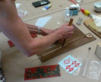 Loading a brass design tool