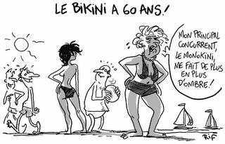 Le bikini à 60 ans