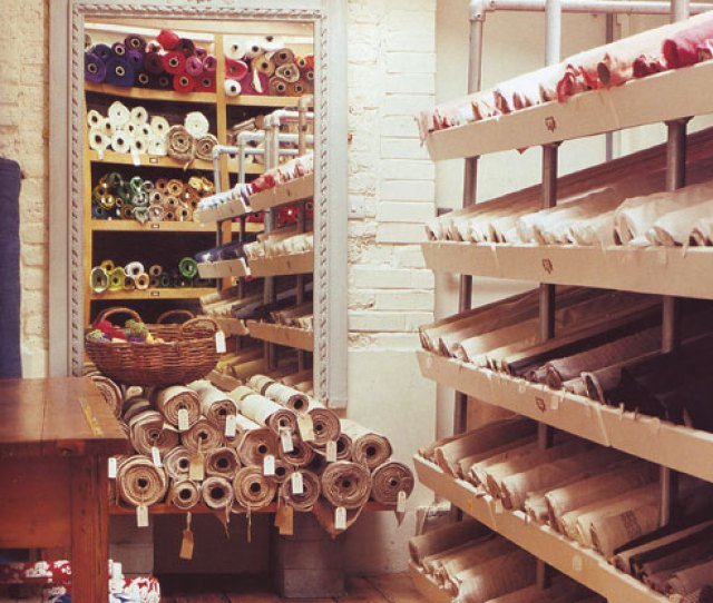 The September Issue Of World Of Interiors Had A Story On The London Fabric Store Cloth House I Have Many Dream Jobs And Owning A Fabric Store Like This Is
