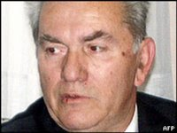 Milan Gvero, currently on Srebrenica massacre trial charged with Genocide.