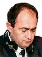 Zdravko Tolimir, charged with Genocide in relation to Srebrenica massacre. Currently on the run.