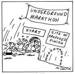 More Notes from the Underground ~ School of Running