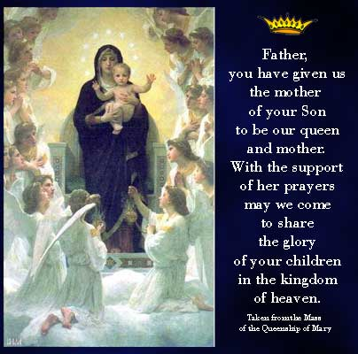FranciscanMom The Queenship Of Mary