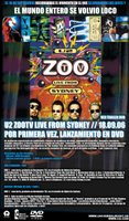 Promocion ZooTv DVD