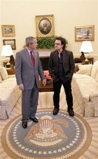 George Bush and Bono