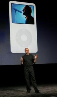 Bono, Steve Jobs and Video iPod