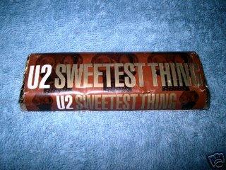 U2 SWEETEST THING CHOCOLATE BAR