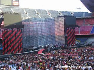 U2 vertigo Tour Barcelona1