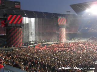 U2 vertigo Tour Barcelona3