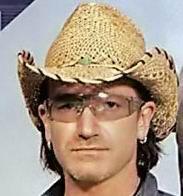 Bono's hats 3