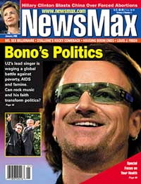 Bono en NewsMax magazine
