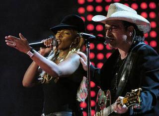 U2 y Mary J. Blige: