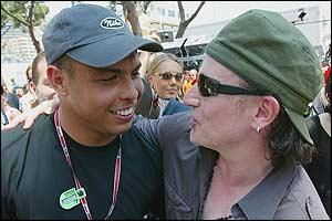 Ronaldo y Bono