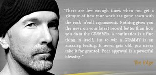 The Edge Grammy